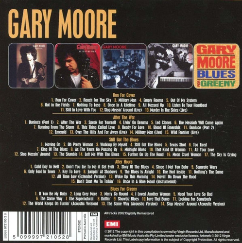 gary moore - 5 album set [box set]
