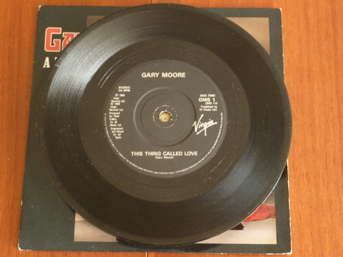 gary moore after the war single 45 rpm vinil no es cd