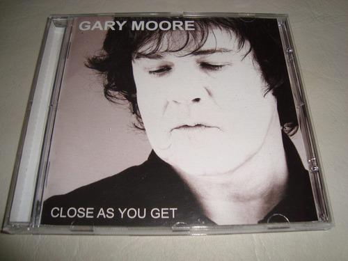 gary moore  close  as you get  cd importado