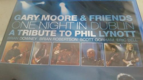 gary moore & friends one night in dublin blu-ray