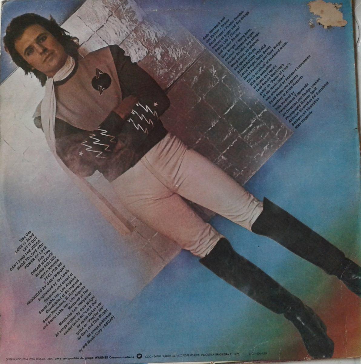 Gary Wright The Dream Weaver Lp Ver O Video R 20 00 Em