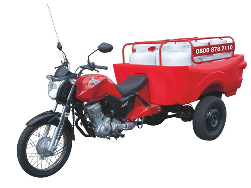 gás 8 triciclo caçamba polietileno fusco motosegura novidade