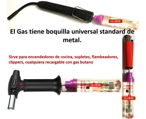gas butano recarga clipper flameador zippo sopletes yesquero