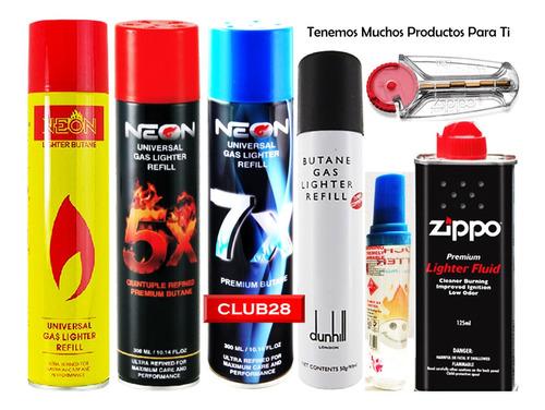 gas butano sopletes yesquero clipper flameador zippo recarga