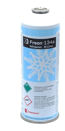 gas dupont 134a 750 gr
