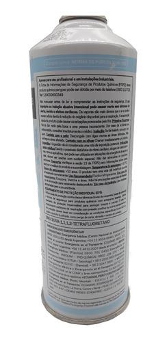 gás freon r134 + valula  ar condionado 750 gramas fluido