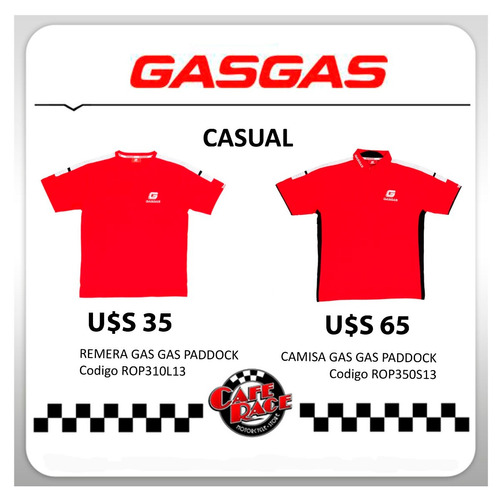 gas gas, casual