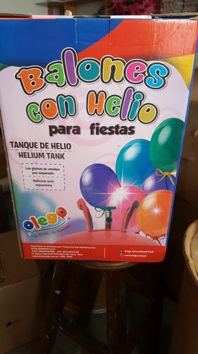 gas helio para globos