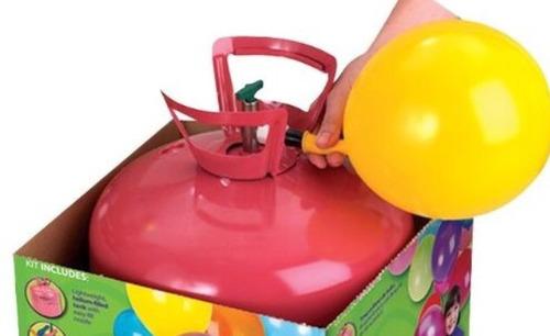 gas helio tanque garrafa descartable 50 globos de 9  0,40m3