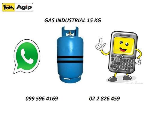 gas industrial cilindros recargas de montacargas