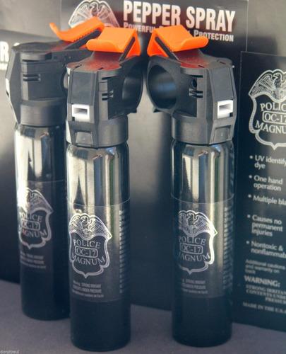 gas lacrimógeno pimienta profesional police muy potente 5oz