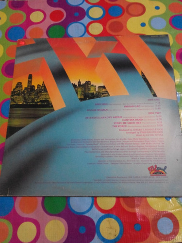 gas lp sing sing 1978. importado usa.