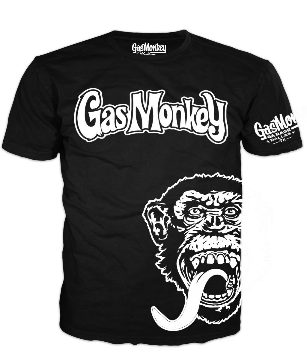 Gas Monky: Gas Monkey Garaje Playera Mod Siete Richard Rawlings