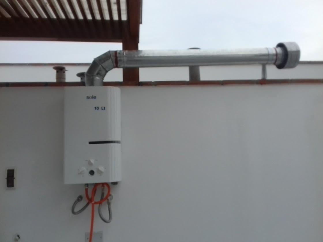 Gas natural ductos de ventilaci n termas s 500 00 en for Como instalar una terma electrica