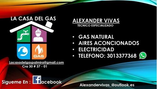 gas natural servicio tecnico especializado