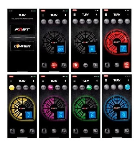 gas pedal tury fast 2.0 b módulo acelerador speed buster