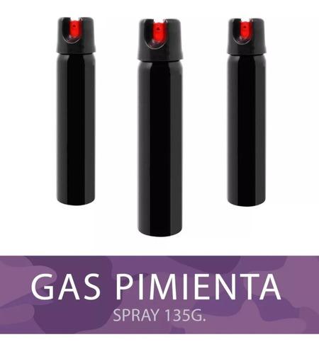 gas pimienta evita robos ataques o acoso.