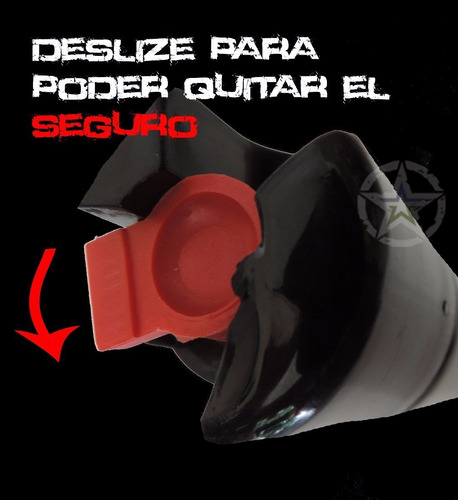 gas pimienta lacrimogeno 90  grms paquete de 6 piezas $320