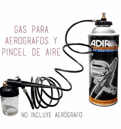 gas propelente 500ml bote para aerografos pincel de aire
