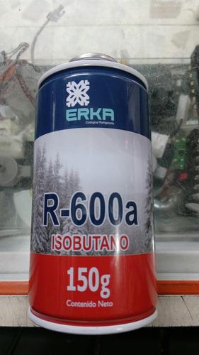 gas r600a refrigerante para refrigeradores inverte 150 gr