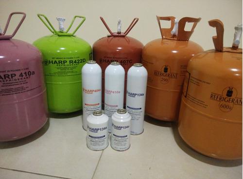 gas refrigerante r290 de 5kg y r600 de 6.5kg