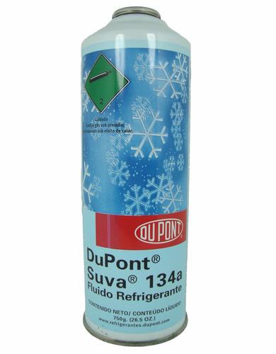gás refrigerante suva 134a r134a lata 750g dupont