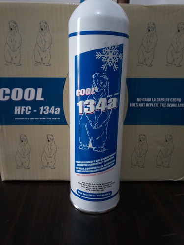 gas refrigerantes 134a(750grs)oferta automotriz y domestico