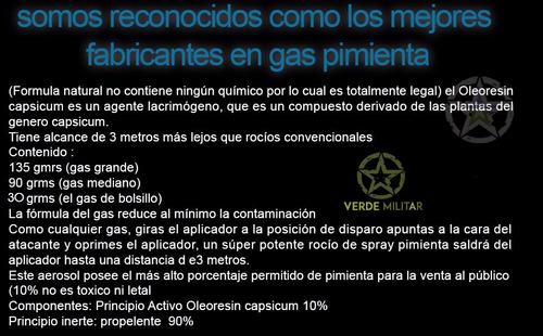 gas spray defensa personal evita robos acoso delincuencia