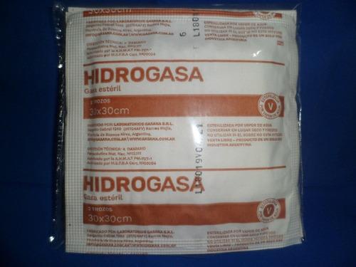 gasa estéril hidrogasa de gasana 30 por 30 cm (50 sobres)