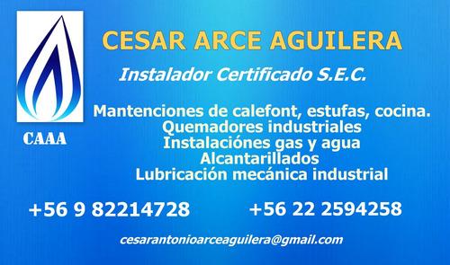 gasfiter - técnico certificado s.e.c