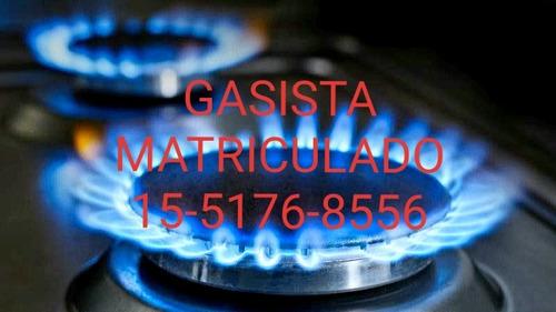gasista matriculado metrogas villa urquiza