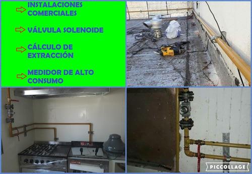 gasista matriculado, plomería, calefacción y albañileria