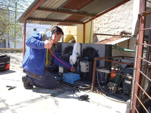 gasista matriculado plomería, técnico en aire acondicionado