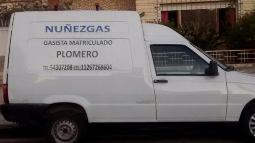 gasista  matriculado-plomero-cuotas