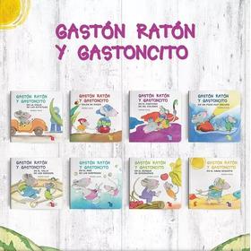 Gaston Raton Y Gastoncito Nora Hilb Serie 8 Libros  Nuevo