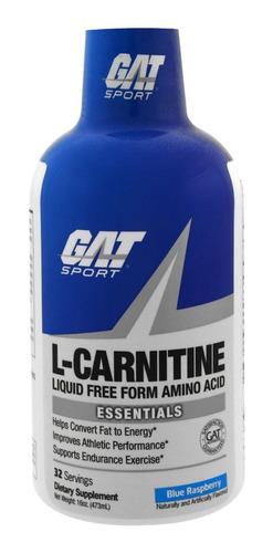 gat - l-carnitina 1500 liquida- mejor que met rx