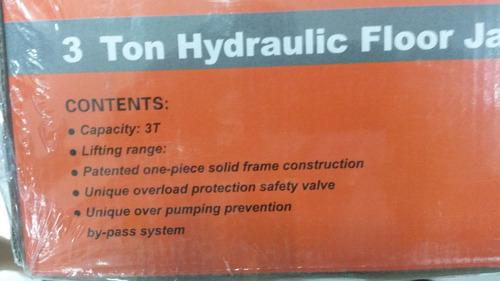 gata hidraulica lagarto 3 toneladas