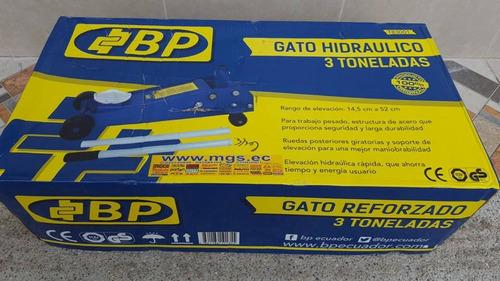 gata tipo lagarto reforzada 3 toneladas marca bp