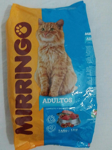 gatarina-alimento para gatos mirringo 1k- por dorotstore