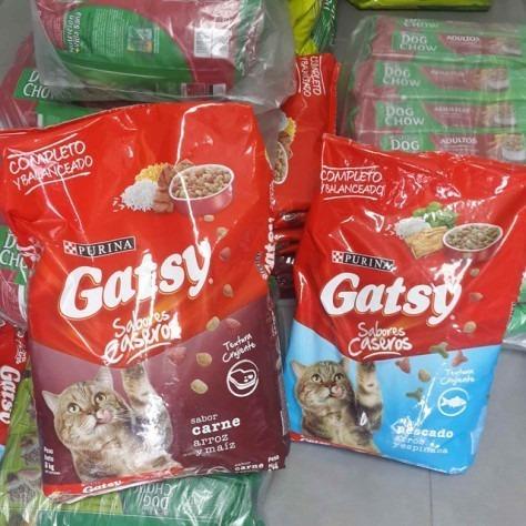 gatarina gatsy saco 17 kg carne y pescado calidad