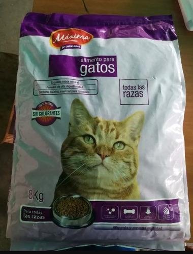 gatarina máxima saco de 8 kg  gatsy cat chow