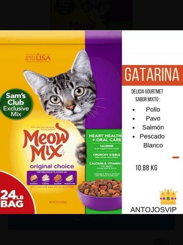 gatarina meow mix 24 lb (10.88 kg)oferta oferta oferta
