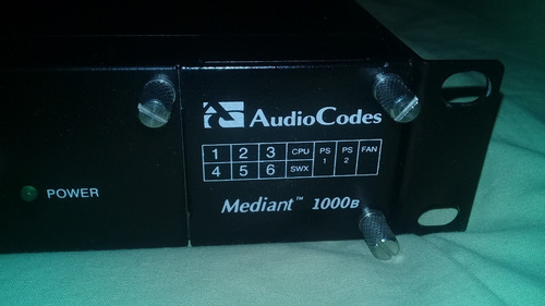 gateway voip audiocodes mediant 1000b