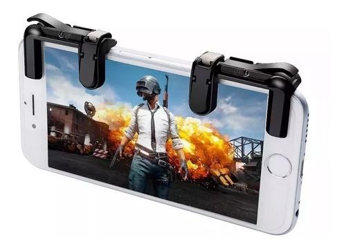 gatilho l1/r1 celular jogos + suporte gamepad pubg free fire
