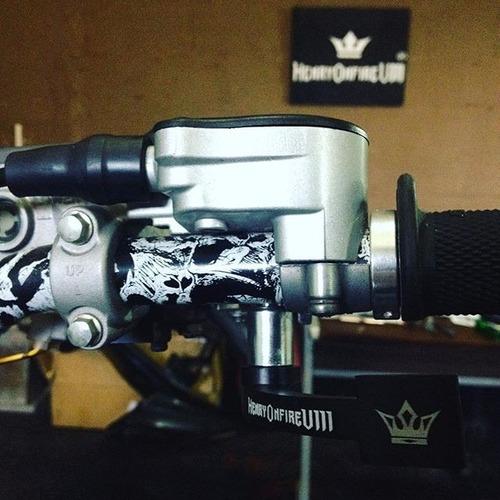 gatillo de acelerador azul  yfz450r 450r henryonfire juri