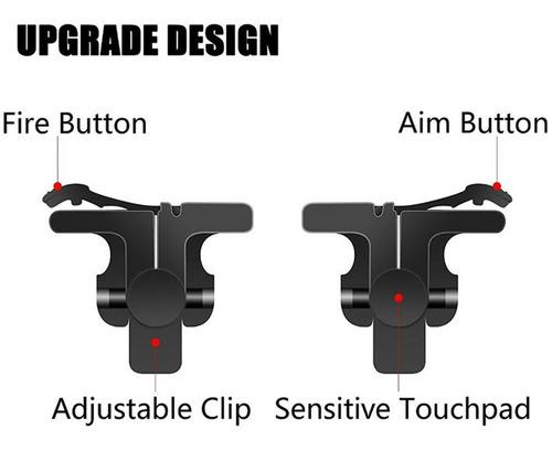 gatillos botones l1 r1 para celular android joystick