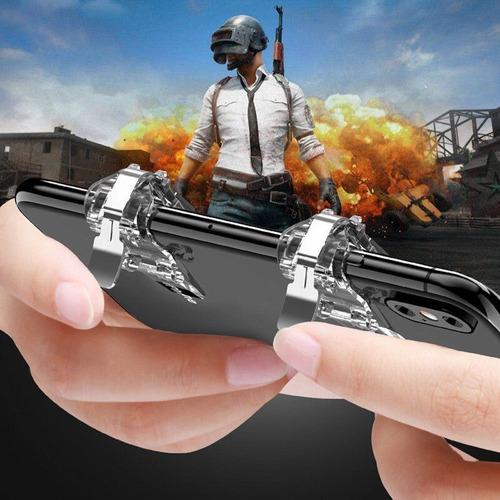 gatillos botones l1r1 celular pubg free fire fornite extend