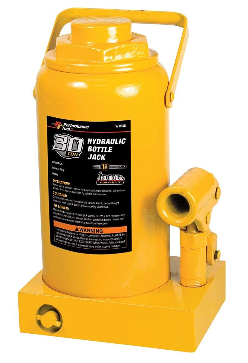 Performance Tool W1623 4-Ton Heavy Duty Hydraulic Bottle Jack ...