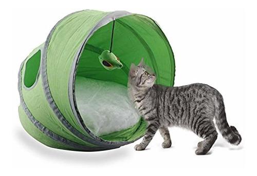 gato carpa cama popup mascota gato casa tienda castillo
