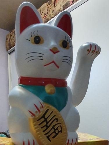 gato de la fortuna maneki neko